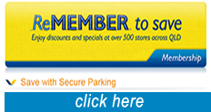 Secure a discounted parking spot for RACQ members