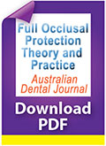 Download PDF Full occlusal protection theory and practice
