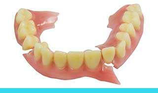 Repairs to Broken Dentures